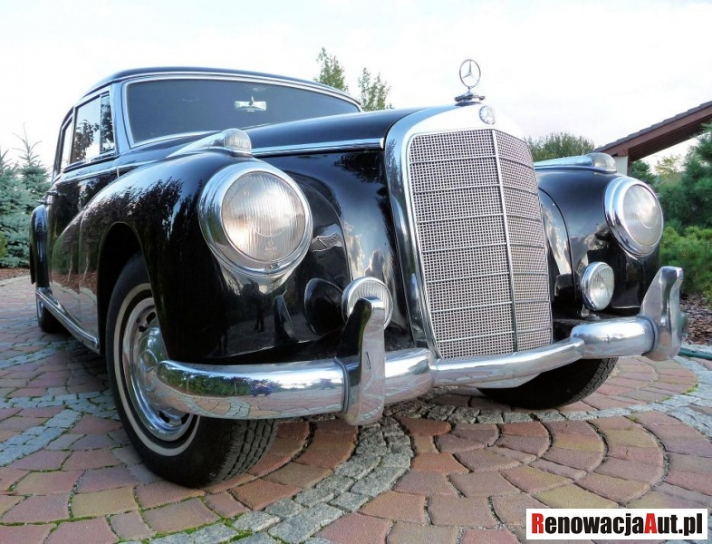 Mercedes Adenauer 300 d 1954 renovation